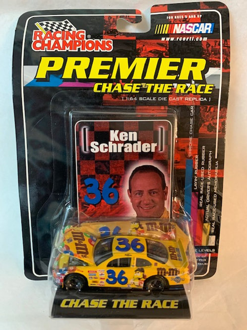 2001 M&M's  with Car Cover / Ken Schrader 1:64 Box#36