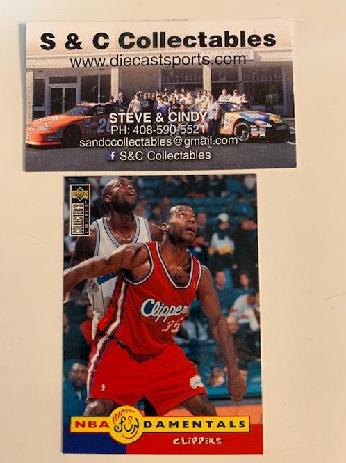 1996-97 Upper Deck Loy Vaught Card# 177  / Basketball--BK1