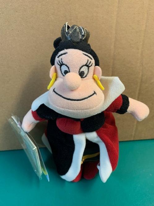 """Disney Beanies Queen of Hearts - Alice in Wonderland 8"""""""