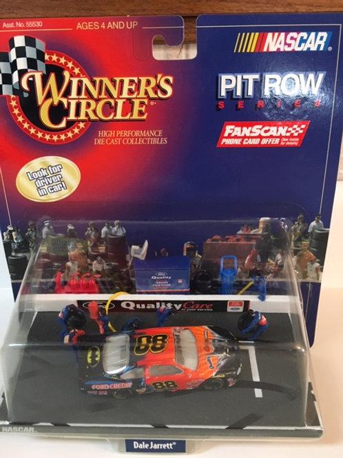 1998 Batman Pit Row Series / Dale Jarrett 1:64  Peg