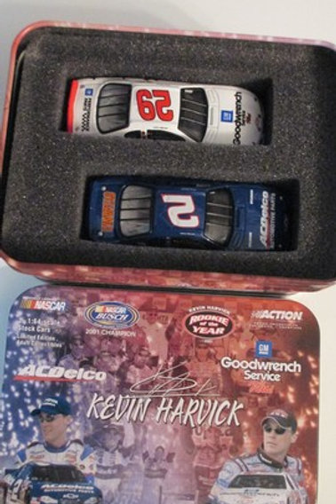2001 ACDelco  Champ & GM Goodwrench (ROTY) 2 Car Set / Kevin Harvick 1:64  Shelf
