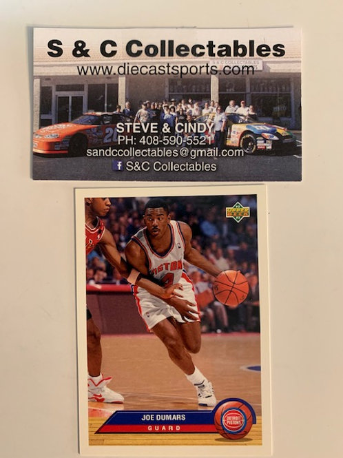 1992-93  Upper Deck Joe Dumars Guard Card# P11  / Basketball--BK1