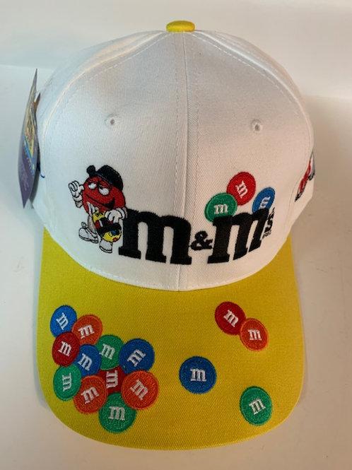 2002 M&M Mr Red M&M Hat (New)   / Ken Schrader Hat#5