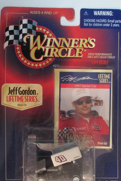 1997 ....1987 Sprint Car / Jeff Gordon 1:64 Box# 41