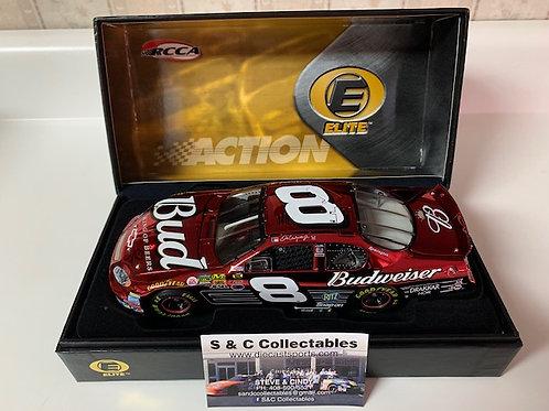 2004 Budweiser Color Chrome  Elite / Dale Earnhardt Jr. 1:24 Wall