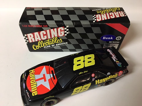 1995 Havoline Black Window BANK / Ernie Irvan 1:24 Shelf
