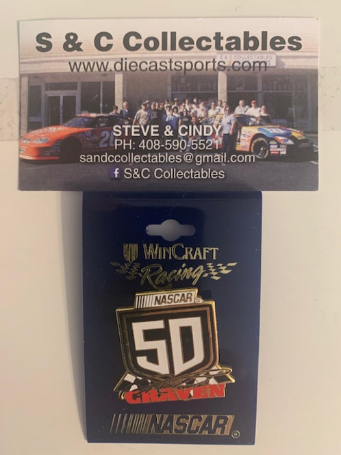 1998 NASCAR #50 Hat Pins / Ricky Craven  Hat Pin #5