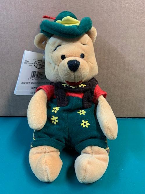 "Disney Beanies Winnie the Pooh October Fest 8"""