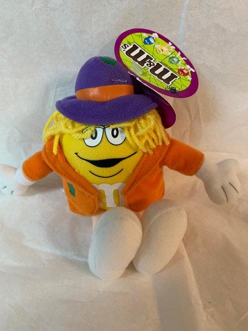 ???? M&M Mini Screaming Yellow Scarecrow / M&M Stuff Box#1