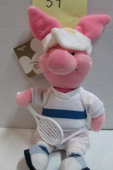 "Piglet Tennis 8"" / Disney Beanies"