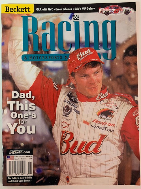 2001 Beckett Card Monthly Issue# 87 / Dale Earnhardt Jr.