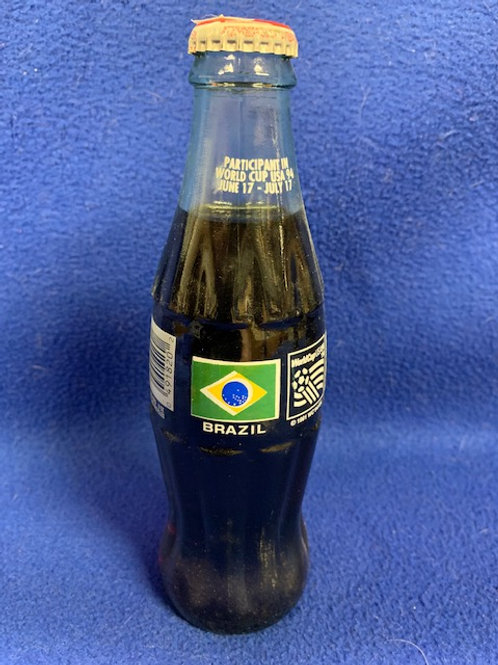 1994 Coca-Cola Brazil World Cup Soccer Coke Bottle
