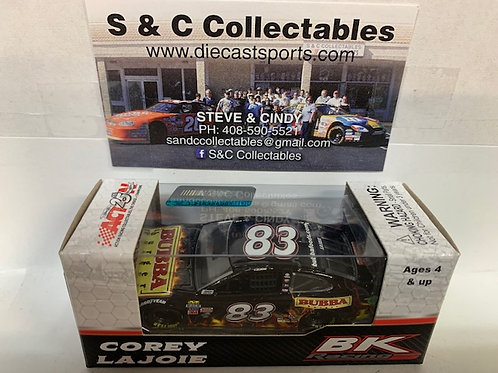 2017 BUBBA Burger (Rookie Car) / Corey LaJoie 1:64