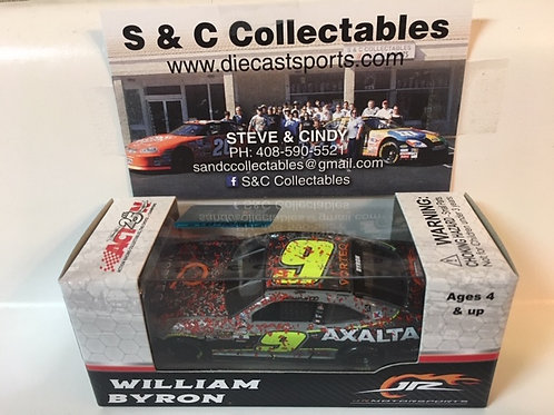 2017 Axalta Daytona Raced Win Version (Rookie Car) / William Byron 1:64