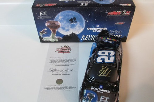 2002 Autographed G.M. Goodwrench Service  - E.T.  / Kevin Harvick 1:24 Wall
