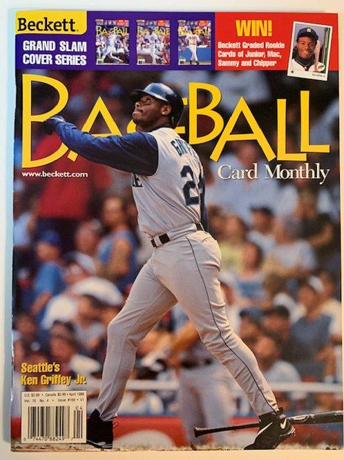 1997 Beckett Card Monthly Issue# 169 / Ken Griffey Jr.-Baseball