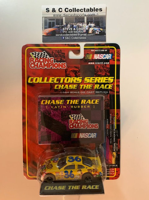 2001 M&M's Race-Used Layin' Rubber on the Card / Ken Schrader 1:64 Box#36