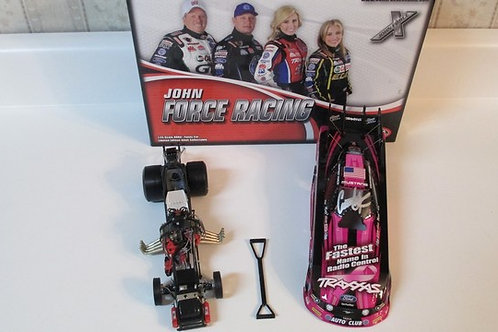 2013 Autographed Traxxas Pink Funny Car  / Courtney Force 1:24