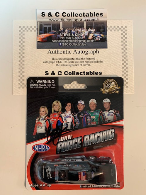 2012  Autograph Traxxas Funny Car / Courtney Force 1:64