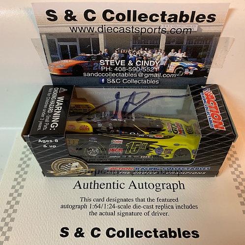 2011 Autographed NHRA's 15X Champion Funny Car  / John Force 1:64  Shelf# A