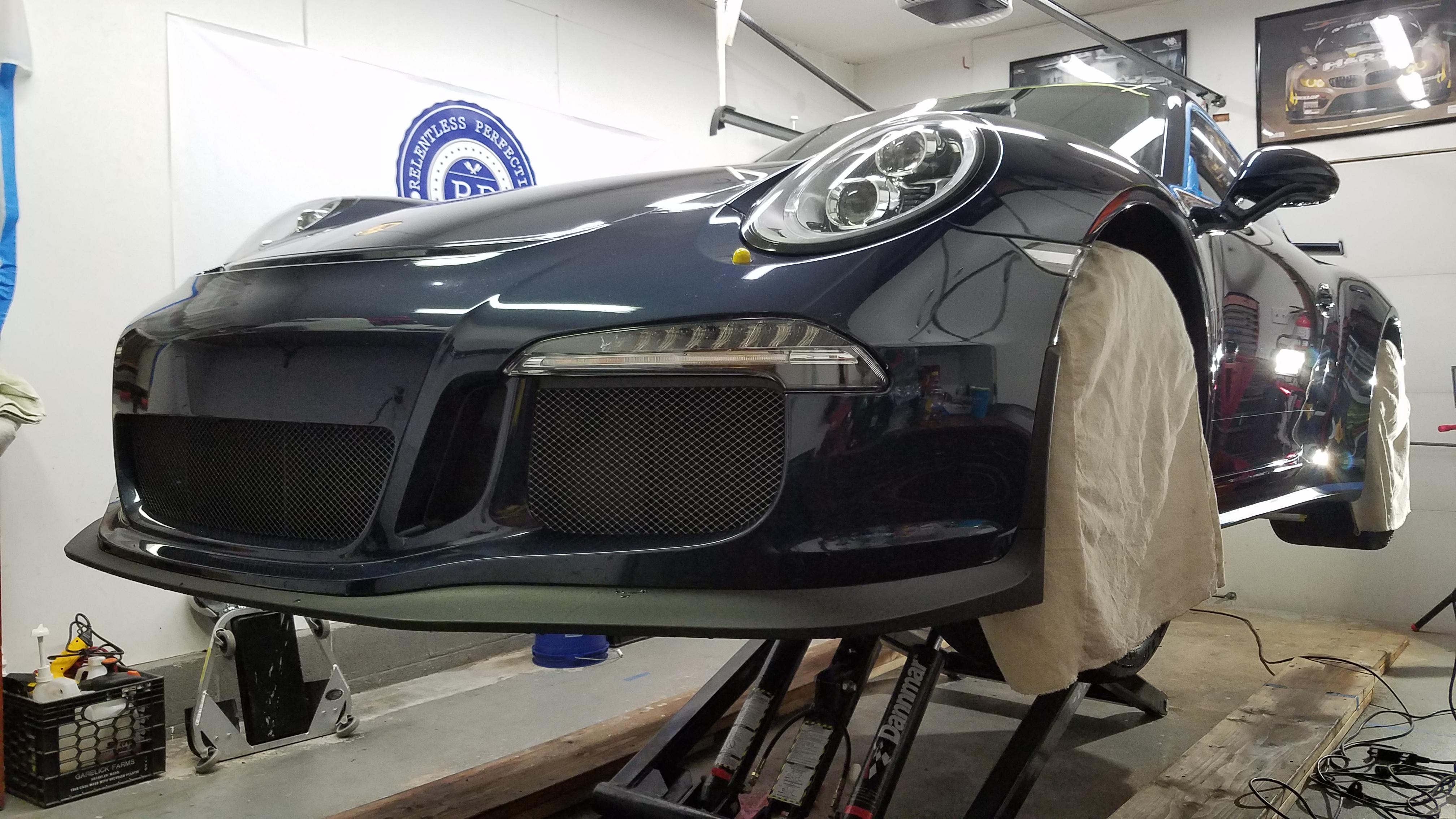 Porsche GT3 Track Car
