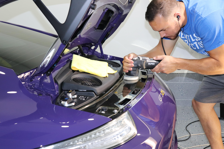 Porsche GT3RS Carbon Fiber Polishing