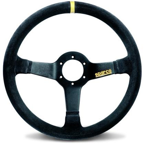 Sparco Steering Wheel 345 Suede Black (350MM)