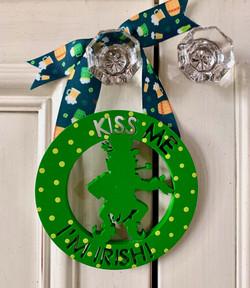 Kiss Me I'm Irish Ornament