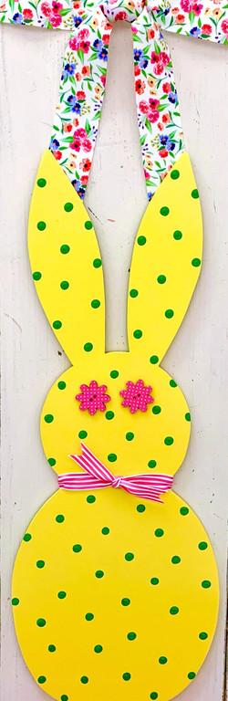 Narrow Springtime Bunny