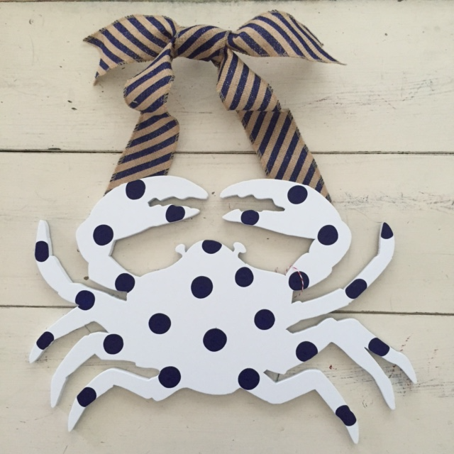 Blue & White Crab
