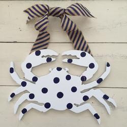 Blue & White Crab