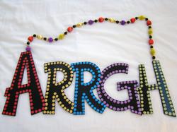 "Colorful ""Arrgh"""