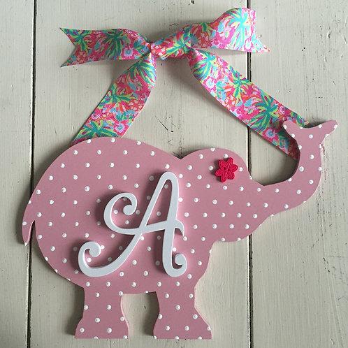 Baby Elephant Initial