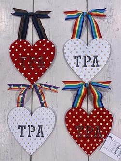 Chunky Pride Hearts