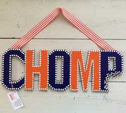 "UF ""CHOMP"" Sign"