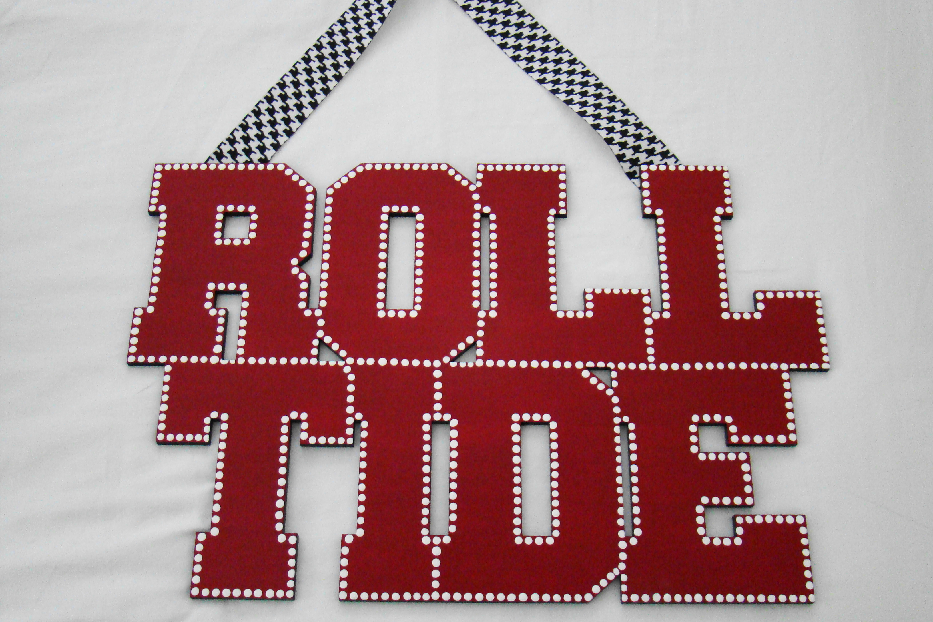 Roll Tide sign