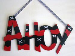 """Crossbones """"Ahoy"""""""
