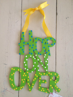 """Dotty Greens """"Hop On Over"""""""