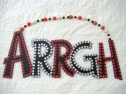"Black, Red, Silver ""Arrgh"""