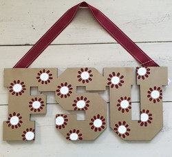 "Daisy ""FSU"" Sign"