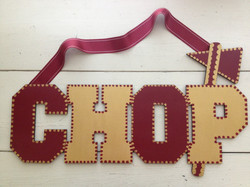 "FSU ""CHOP"" Sign"
