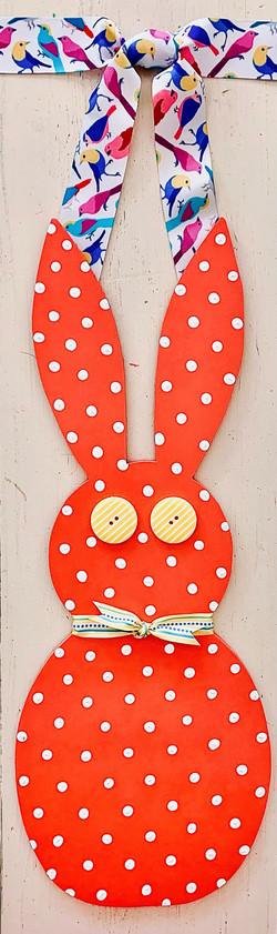 Narrow Orange Bunny