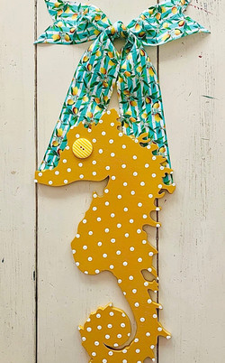 Citrus Summer Sea Horse