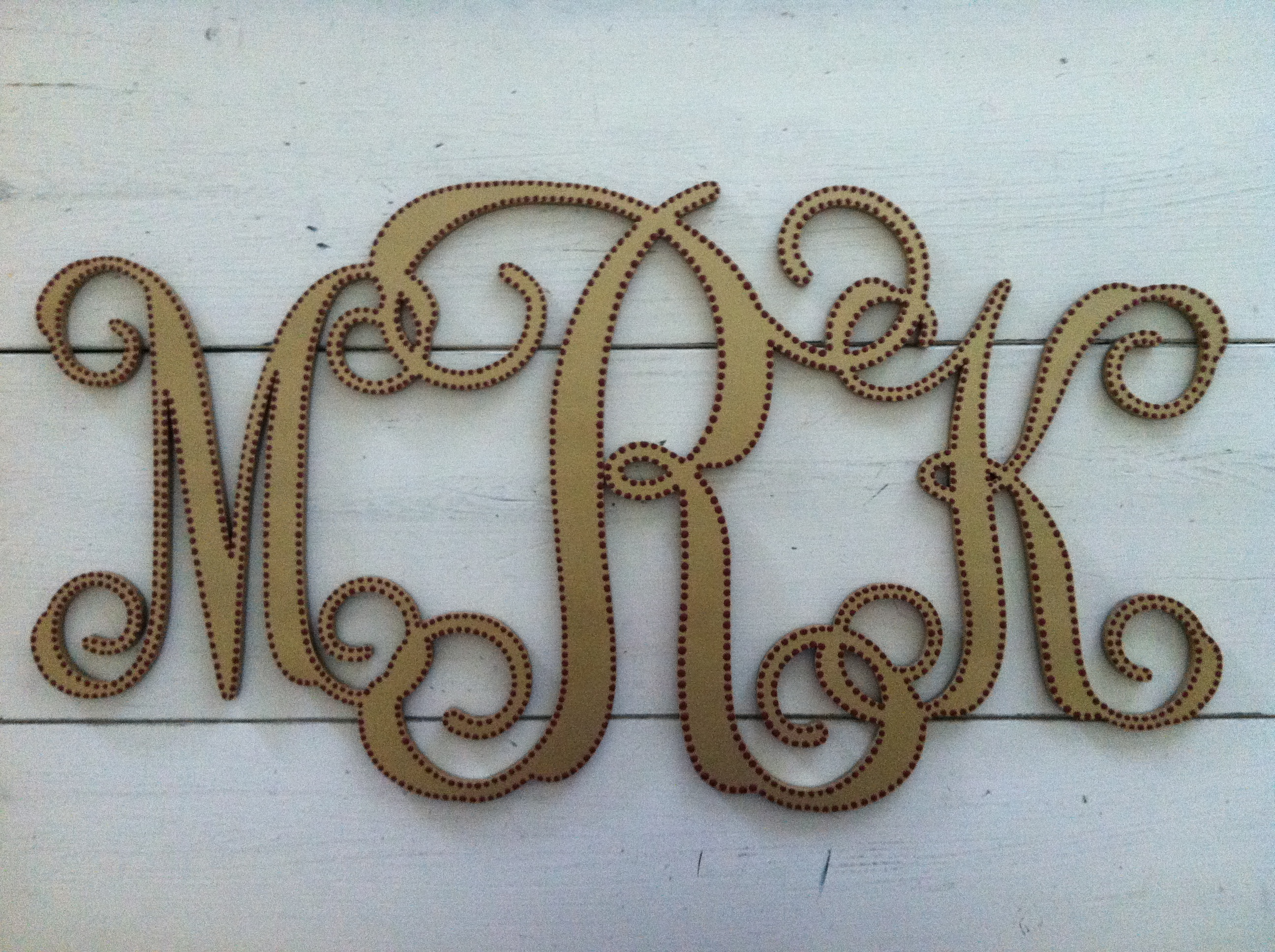 """""""MRK"""" Monogram"""