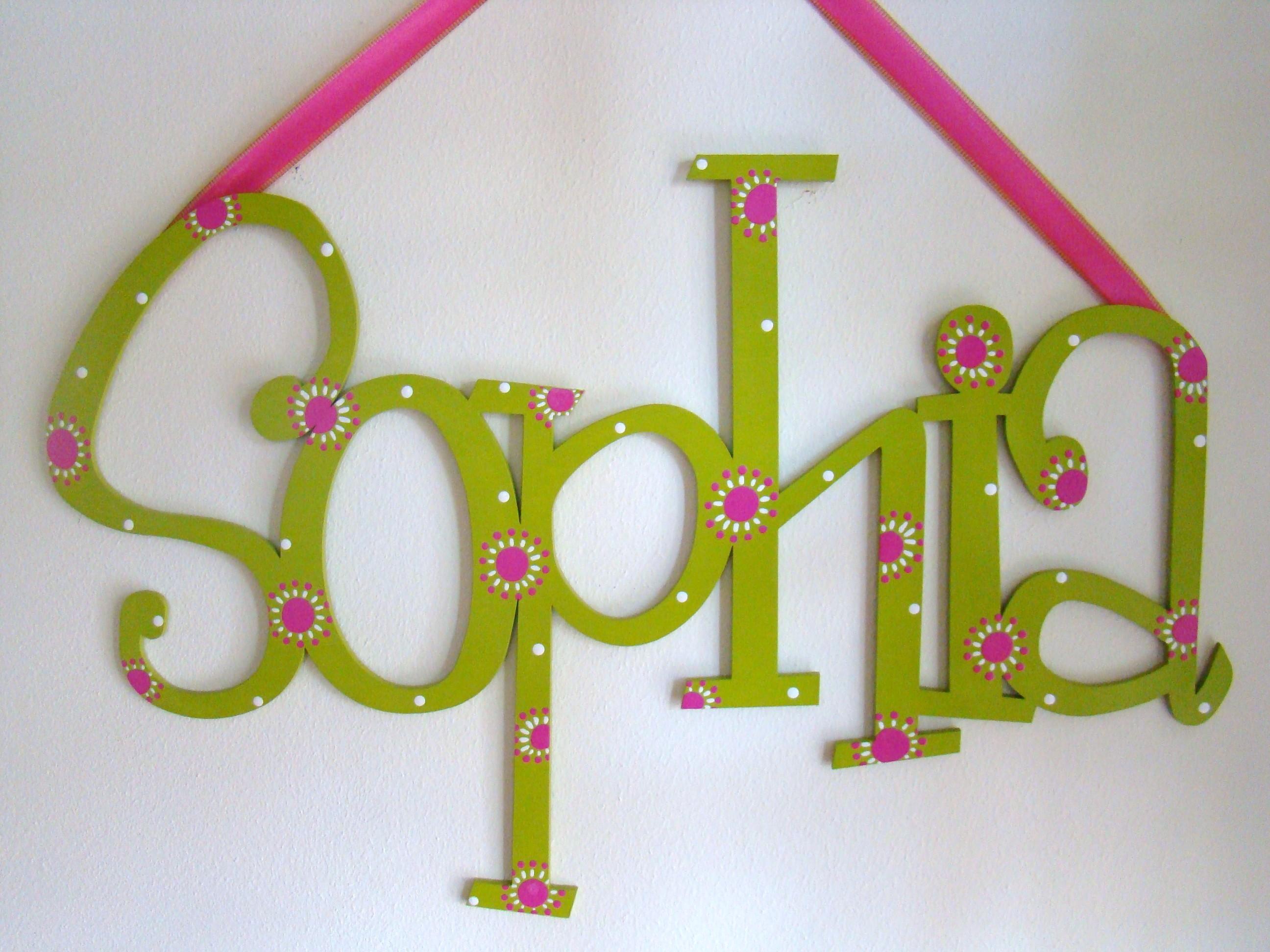 """Lime & Pink """"Sophia"""""""
