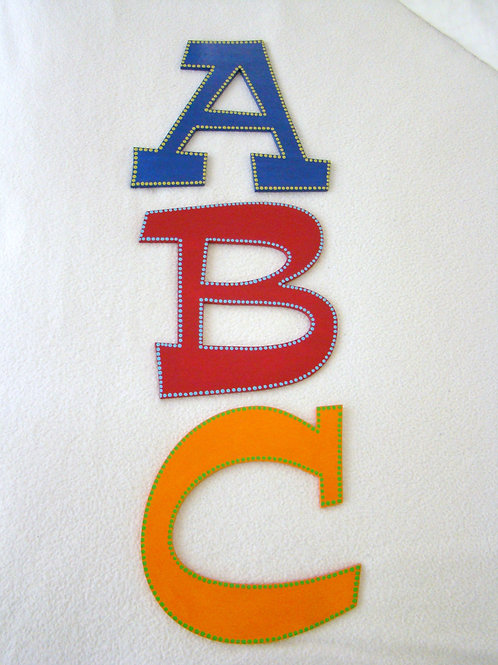 Alphabet Initials