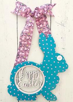 Happy Easter Retro Bunny