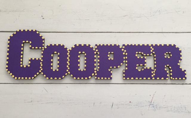 """LSU """"Cooper"""""""