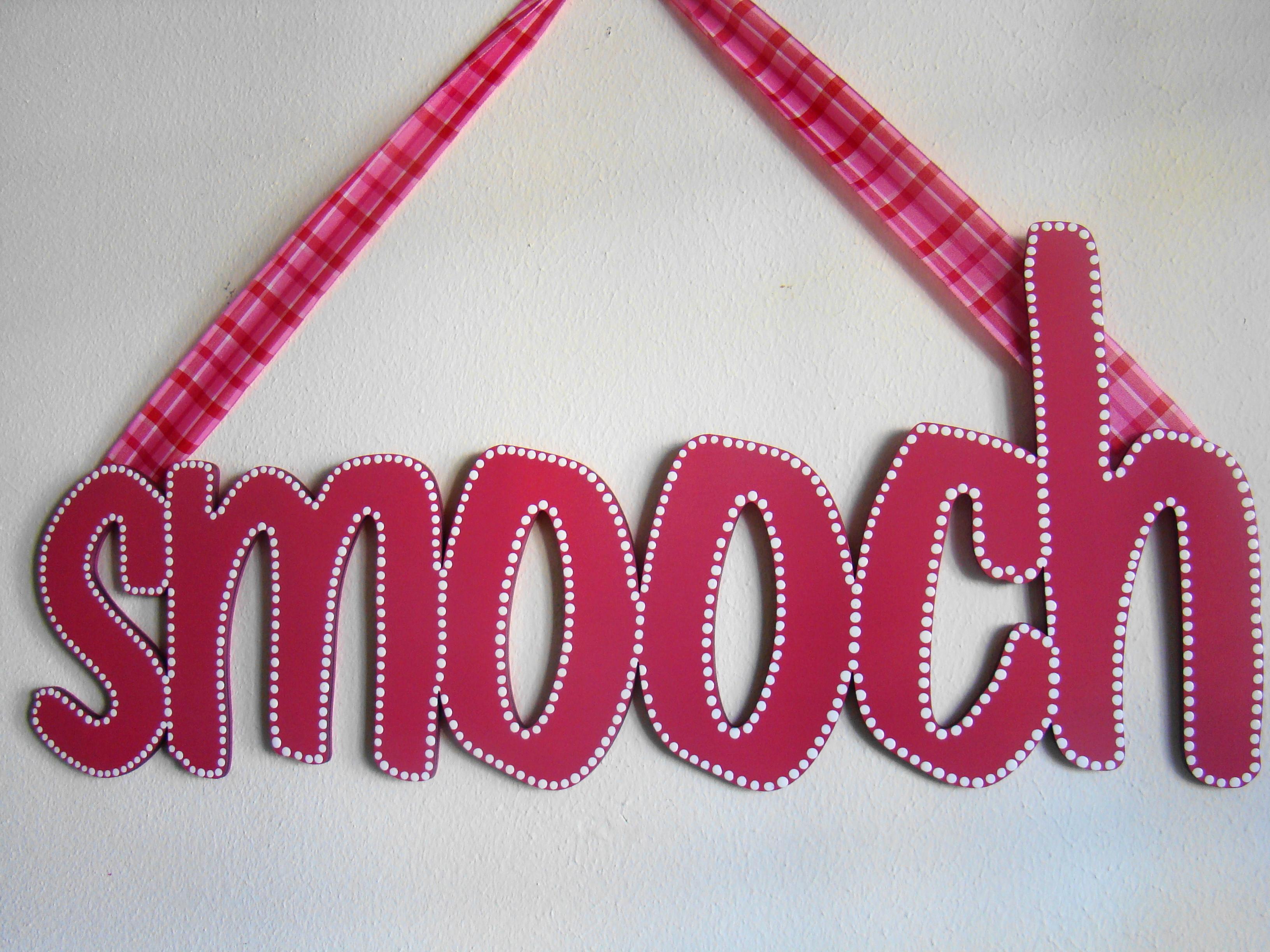 """Valentine's """"smooch"""""""