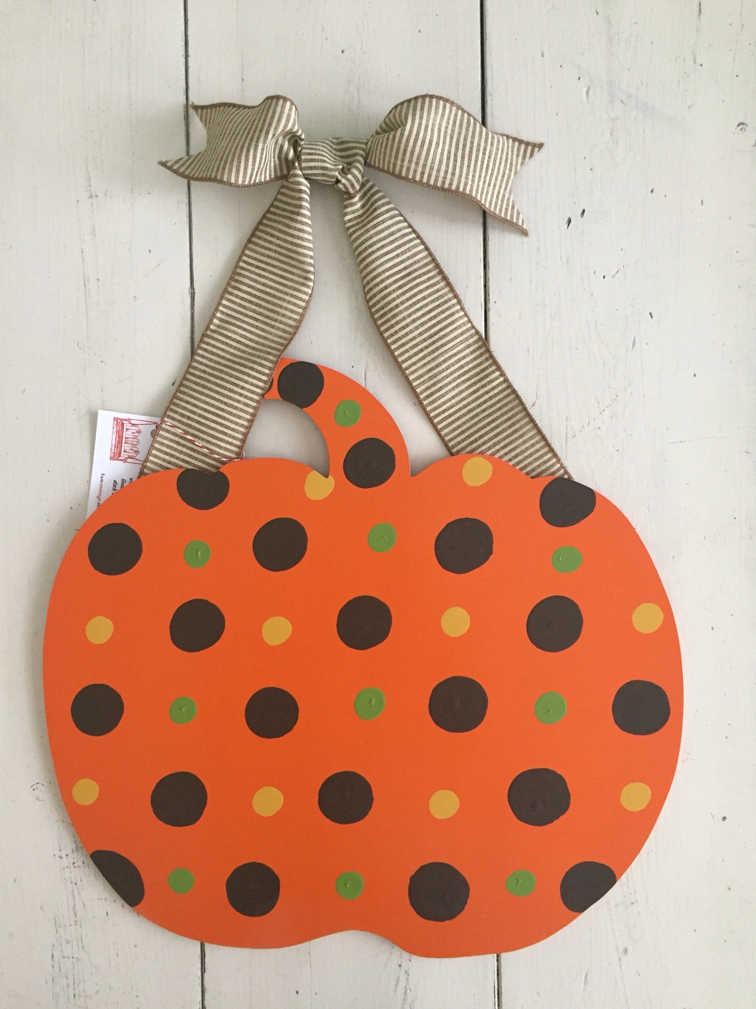 Multi Dot Pumpkin